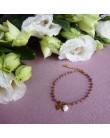 Bracelet Ashley perles violettes