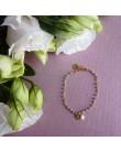 Bracelet Ashley perles grises