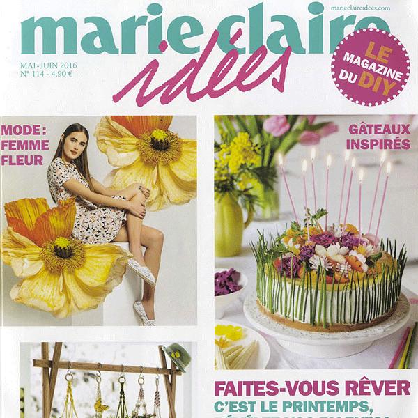 Marie Claire idées - Mai 2016