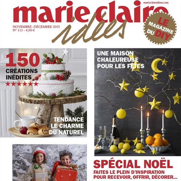 Marie Claire idées - Novembre 2015
