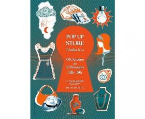 Pop Up Store - l'Atelier k+a